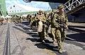 US Navy 050611-N-8146B-001 Australian Army personnel embark aboard the amphibious assault ship USS Boxer (LHD 4) in Townsville.jpg