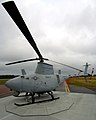 US Navy 050627-N-0295M-004 A RQ-8A Fire Scout Vertical Takeoff and Landing Tactical Unmanned Aerial Vehicle (VTUAV) System on display.jpg