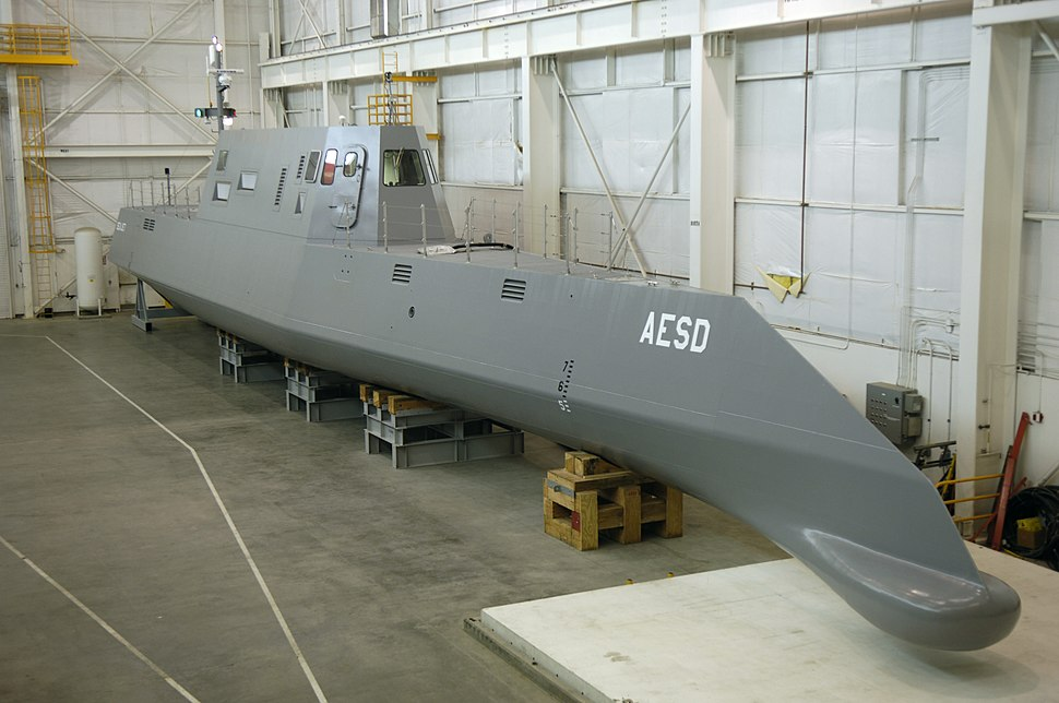 US Navy 050823-N-7676W-052 The Advanced Electric Ship Demonstrator (AESD), Sea Jet, funded by the Office of Naval Research (ONR), is a 133-foot vessel located at the Naval Surface Warfare Center Carderock Division