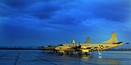 US Navy 060115-N-8726C-001 Three P-3C Orion aircraft belonging to the Tridents of Patrol Squadron Two Six (VP-26) stand ready on a rain soaked airfield on board Naval Air Station Sigonella