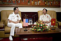 US Navy 070620-N-0696M-343 Chief of Naval Operations (CNO) Adm. Mike Mullen visits with Vietnamese Deputy Minister of National Defense, Senior Lt. Gen. Nguyen Huy Hieu during an office call.jpg