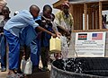 US Navy 080208-F-7577K-063 Children get clean drinking water from a well built by Naval Mobile Construction Battalion (NMBC) 40 in Shant Abak.jpg