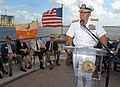 US Navy 081013-N-0486G-005 Rear Adm. Joseph D. Kernan speaks at the Jacksonville Navy Memorial rededication ceremony.jpg