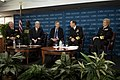 US Navy 100129-N-0696M-036 Senior Navy leadership participate in a leadership discussion.jpg