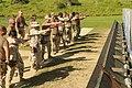 US Navy 101028-N-4936C-157 Members of the Navy Expeditionary Guard Battalion (NEGB) conduct a firing range exercise at Windward Range.jpg