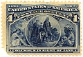 US stamp 1893 1c Columbus in Sight of Land.jpg
