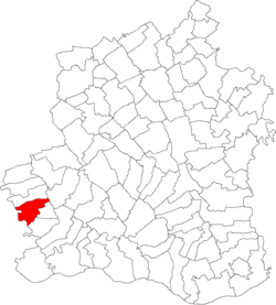 Location of Uda-Clocociov
