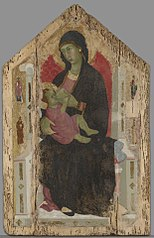 Virgin and Child Enthroned with Four Saint