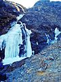 Ujëvara e ngrirë, Gjeravicë, Deçan.jpg