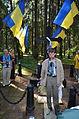 Ukrainian Delegation in Levashovo Memorial Cemetery 37.JPG