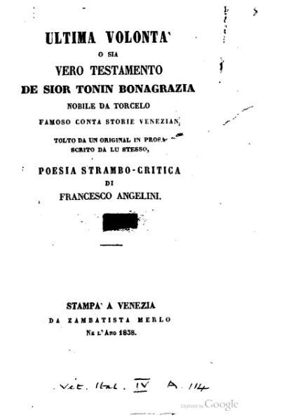 File:Ultima volontà de sior Tonin Bonagrazia.djvu