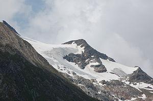 Нижний Ротшпитце, вид из долины Умбал