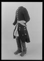 Uniformsrock buren av Karl XII vid Fredrikshald den 30 november 1718 - Livrustkammaren - 36233.tif