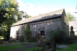 Rivington Unitarian Chapel Church in Lancashire, England