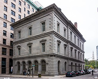United States Customshouse (Providence, Rhode Island) - Image: United States Customshouse (Providence, Rhode Island) 2016