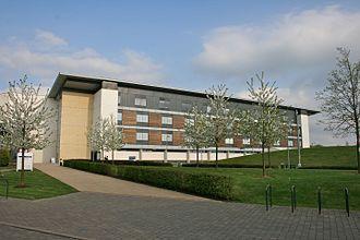 University of Hertfordshire - Main Building at de Havilland Campus
