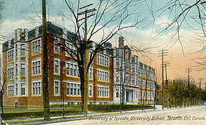 University of Toronto Schools - UTS in 1920