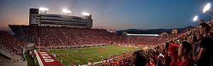 Rice-Eccles Stadium - Image: University of Utah Vs. Utah State Via MUSS