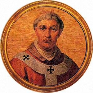Paul Palaiologos Tagaris - Pope Urban VI (modern painting, Basilica of Saint Paul Outside the Walls, Rome)