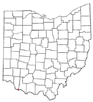 Utopia, Ohio - Location of Utopia, Ohio