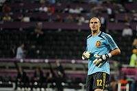 Víctor Valdés before Euro 2012 vs France.jpg