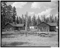 VIEW NORTH - Lake Fish Hatchery, U.S. Fish and Wildlife Service Residence, Lake, Teton County, WY HABS WYO,20-LAK.V,1A-2.tif