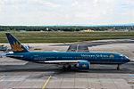 VN-A149 Vietnam Airlines Boeing 777-2Q8(ER) @ Frankfurt - Rhein-Main International (FRA - EDDF) - 07.08.2014 (16638131303).jpg