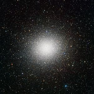 VLT Survey Telescope - Globular star cluster Omega Centauri as seen by the VST.