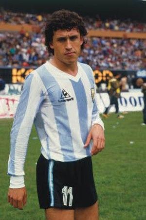 Jorge Valdano - Valdano in 1985