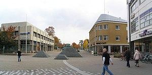 Valkeakoski - Image: Valkeakosken keskusta 3