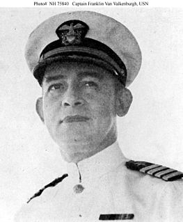 Franklin Van Valkenburgh United States Navy Medal of Honor recipient
