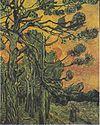 Van Gogh - Kiefern mit untergehender Sonne und weiblicher Figur.jpeg