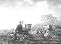 Van de Sande Bakhuyzen, selfportrait, study, 1849.png