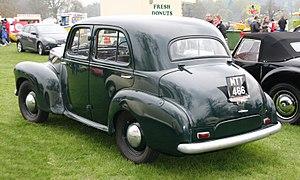 Vauxhall Wyvern - Vauxhall Wyvern LIX Saloon
