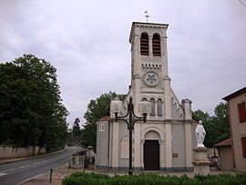 The church in Veauchette