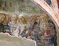 Vecchietta, cappella di san martino, 1435-39 ca., santi pastori, monaci e anacoreti, 03 col cappuccio eugenio IV.jpg