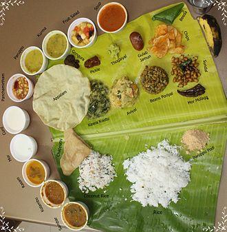 Tamil cuisine - Veg Meals in Tamil Nadu