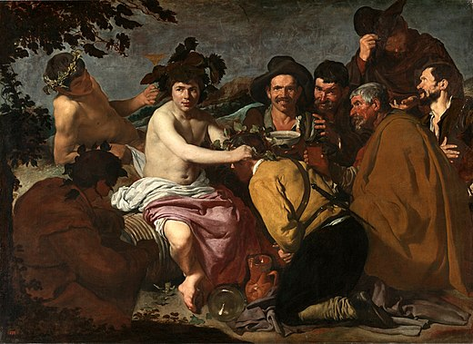 Diego Velázquez, The Triumph of Bacchus, 1628–29