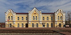 Venyov (Tula Oblast) 03-2014 img14 train station.jpg