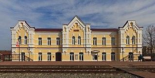 Venyov Town in Tula Oblast, Russia