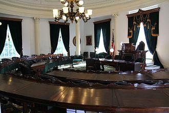 Vermont Senate - Image: Vermont State Senate Chamber Panorama