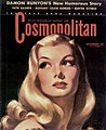 Veronica Lake by Bradshaw Crandell on Cosmopolitan cover, 1941.jpg