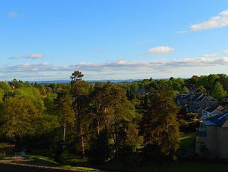 Milngavie - View across Milngavie
