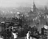 View from St Paul's Cathedral after the Blitz.jpg