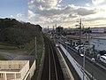 View from overpass of Kajikuri-Godaichi Station (south) 2.jpg