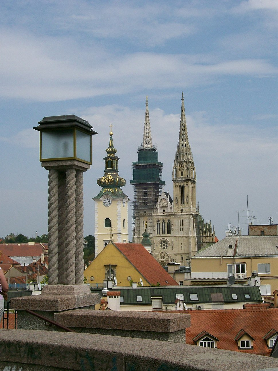 View from the Upper Town (Zagreb)