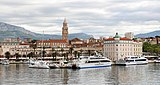 View of Diocletian's Palace, Split 02.jpg