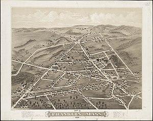 Franklin, Massachusetts - In 1879