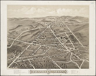 Franklin, Massachusetts - In 1879