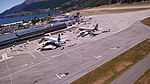 View of planes at Queenstown Airport from ZK-IDN 04.jpg